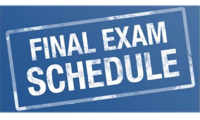 Πρόγραμμα Εξετάσεων του εαρινού εξαμήνου  2020-2021